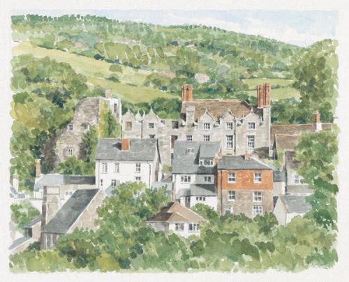 Hay on Wye Hay Castle by Glyn Martin