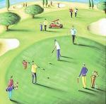 18th Hole art print