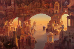 Architectural Fantasy art print