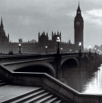 Bridge with Big Ben art print