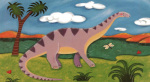 Dippy the Diplodocus art print