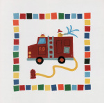 Fire Engine art print
