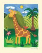 Gerry the Giraffe art print