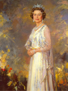 Her Majesty Queen Elizabeth II art print