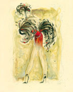 Lady Burlesque II art print