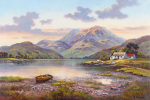 Mountain Loch art print