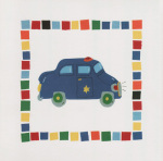 Police Car art print