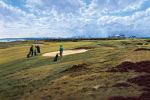 Royal Aberdeen (18th Hole) art print