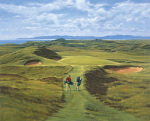 Royal troon 8th art print