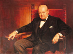 Sir Winston Churchill art print