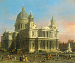 St. Paul's Cathedral 1754 art print