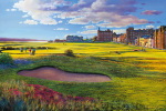 St Andrews art print