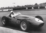 Stirling Moss, Maserati 250 F, 1956 art print