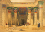 Temple of Philae, Nubia art print