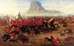 The Battle of Isandhlwana art print