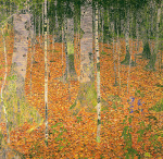 The Birch Wood, 1903 art print