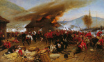 The Defence of Rorke's Drift art print