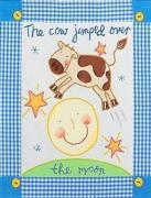 The cow jumped over the moon art print