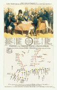 Trafalgar Battle Plan art print