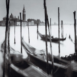 Venetian Gondolas IV art print