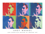 A Set of Six Self-Portraits, 1967 art print