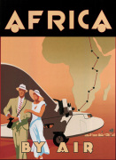 Africa by Air art print