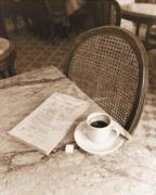 Cafe Noir, Paris art print
