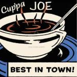 Cup'pa Joe Best in Town art print