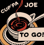 Cup'pa Joe to Go art print