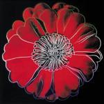 Flower for Tacoma Dome, c. 1982 (black & red) (giclee) art print