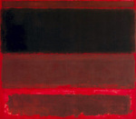 Four Darks in Red, 1958 art print