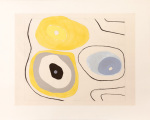 Gouache Number Three 1935 (Silkscreen print) art print
