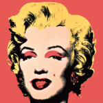 Marilyn 1967 Red art print