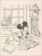 Mickey&#39;s Storytime art print