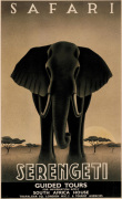 Serengeti art print