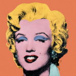 Shot Orange Marilyn, 1964 art print