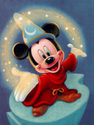 Sorcerer Mickey-Fantasia Magic art print
