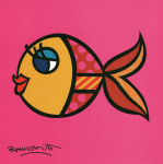Swimmingly Pink art print