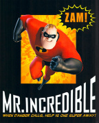 The Incredibles - Mr Incredible art print