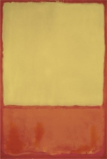 The Ochre (Ochre, Red on Red), 1954 art print