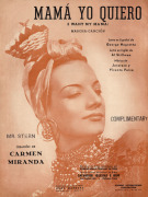Carmen Miranda in 'Mama yo quiero' (I want my Mama) giclee art print