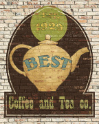 Best Coffee and Tea art print