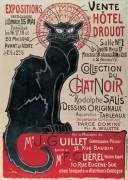 Collection du Chat Noir art print