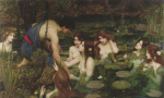 Hylas and the Nymphs art print