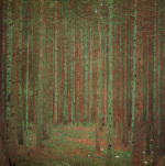 Pine Forest, 1902 art print
