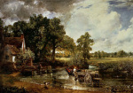 The Haywain art print