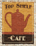 Top Shelf Caf� art print