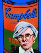Hommage to Andy Warhol art print