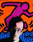 Hommage to Keith Haring art print