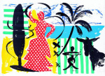 Mallorca Flamenco (2000) art print